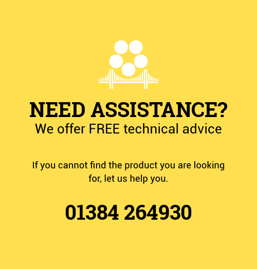 Need assistance? We offer free technical advice. Call 01384 264930.
